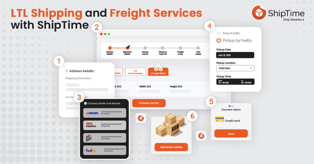 LTL Shipping and Freight Services with ShipTime