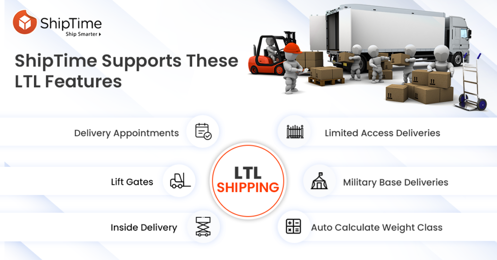 LTL Shipping Features